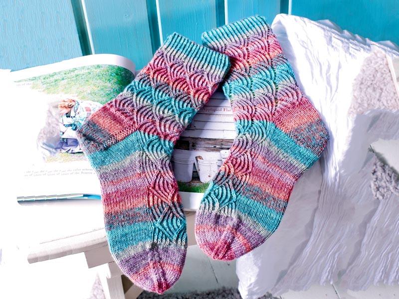 Носки, тапочки Вязание спицами, крючком, уроки вязания