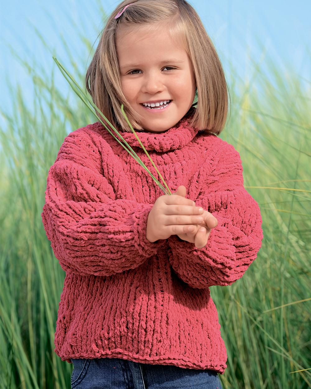 Связать детский свитер схема 911
