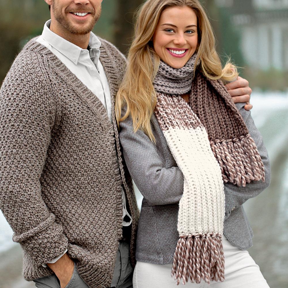 шарф без вязания