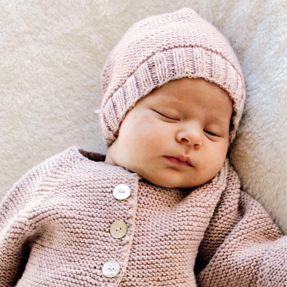 Вязание колпак для малышей 10