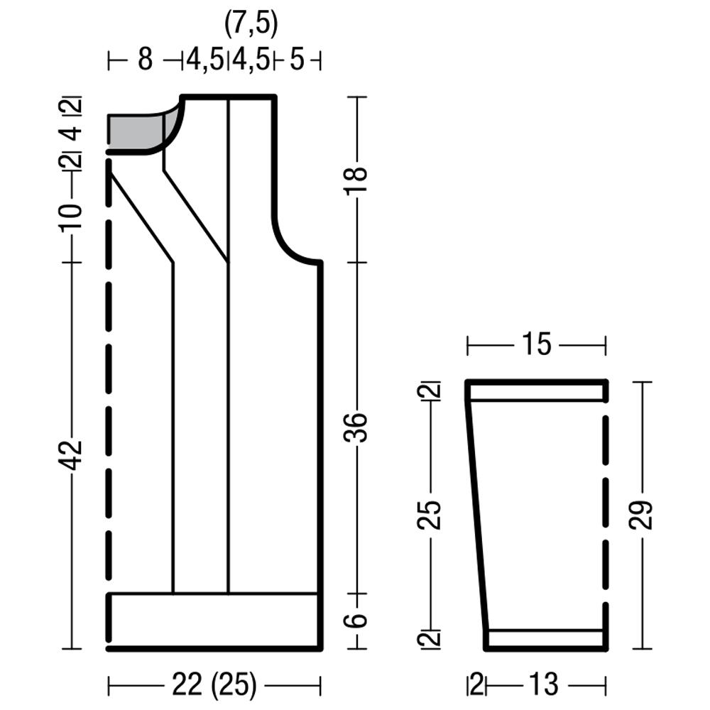 Мужской джемпер французской резинкой вкруговую 77