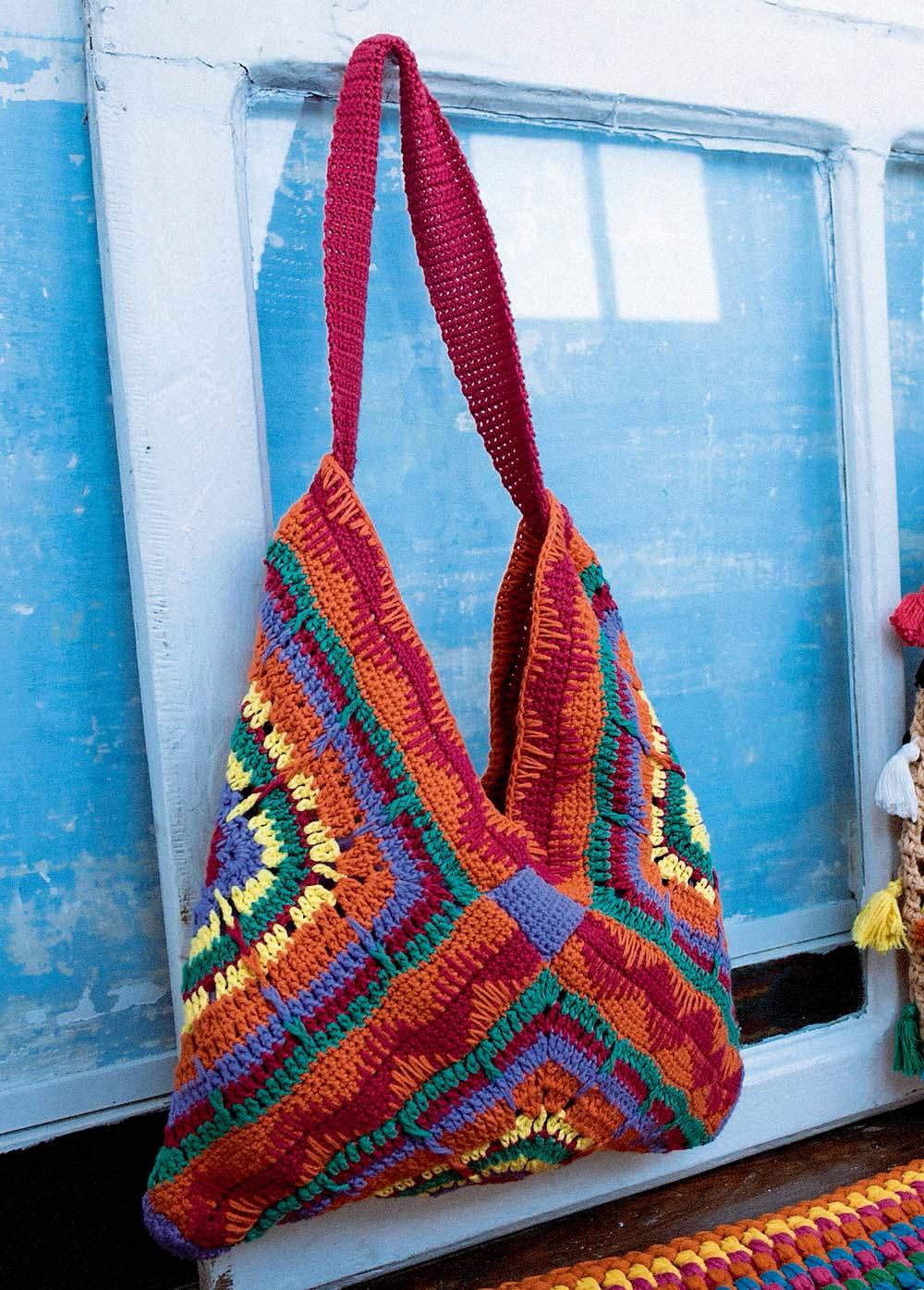 Вязание сумок из мотивов 531