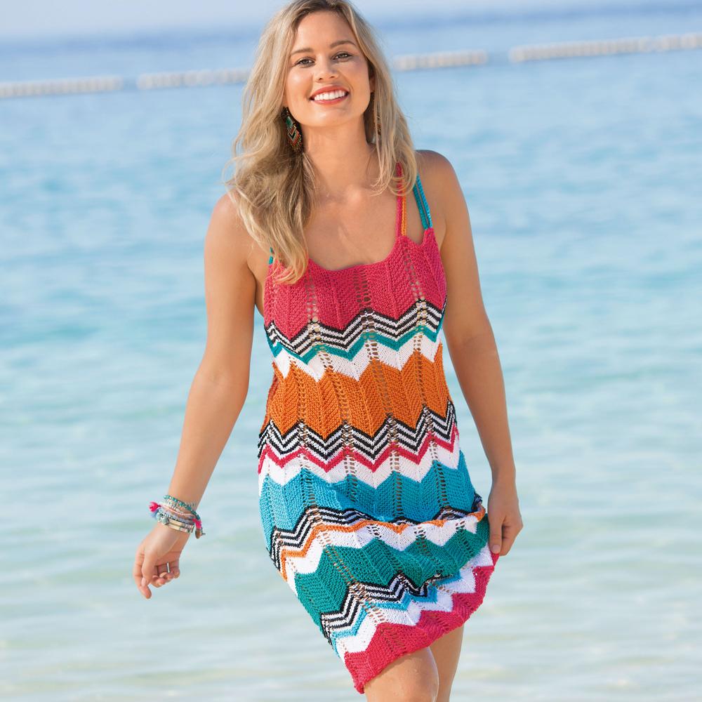 Вязание спицами летние платья и сарафаны 73