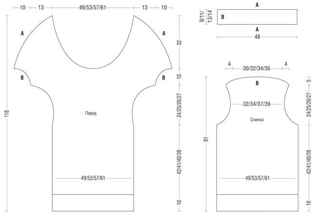 Простое в исполнении короткое платье можно носить с плотными колготами, леггинсами или обтягивающими джинсами
